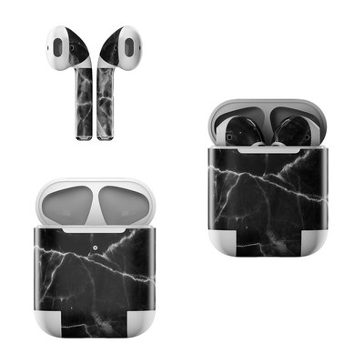 Apple AirPods Skin - Black Marble