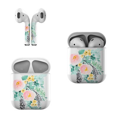 Apple AirPods Skin - Blushed Flowers