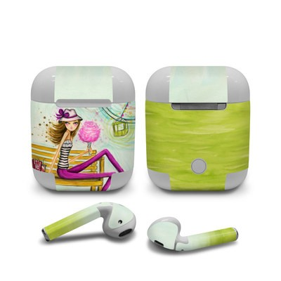 Apple AirPods Skin - Carnival Cotton Candy