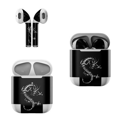 Apple AirPods Skin - Chrome Dragon