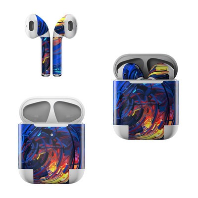 Apple AirPods Skin - Clockwork