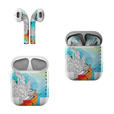 Apple Air Pods Skin - Coral