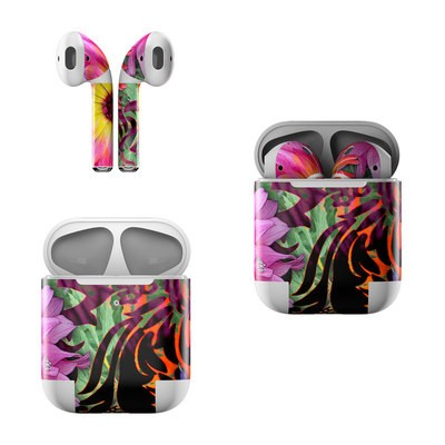 Apple AirPods Skin - Cosmic Damask