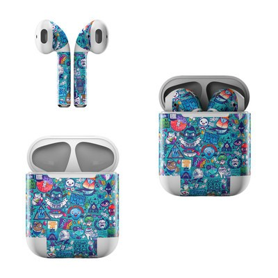 Apple AirPods Skin - Cosmic Ray