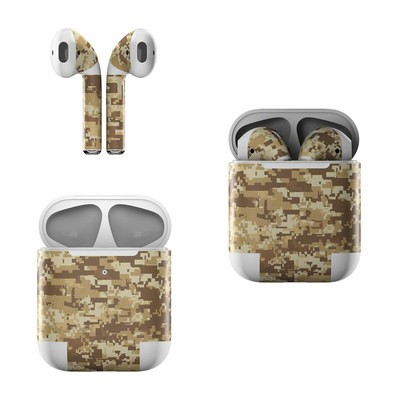 Apple AirPods Skin - Coyote Camo
