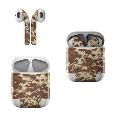 Apple AirPods Skin - Digital Desert Camo