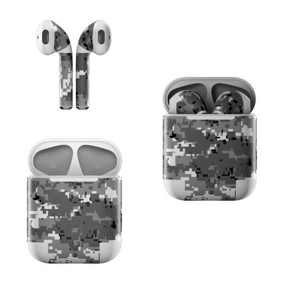 Apple AirPods Skin - Digital Urban Camo