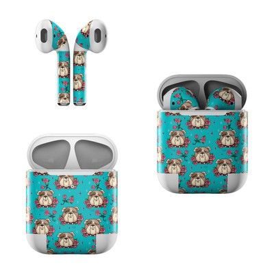 Apple AirPods Skin - Bulldogs and Roses