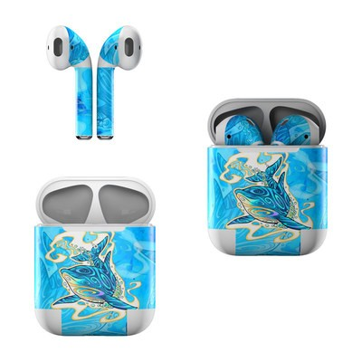 Apple Air Pods Skin - Dolphin Daydream