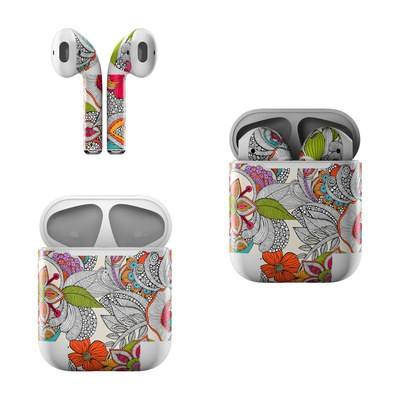 Apple AirPods Skin - Doodles Color