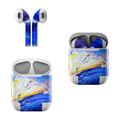 Apple Air Pods Skin - Feeling Blue