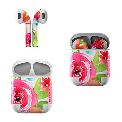 Apple AirPods Skin - Floral Pop