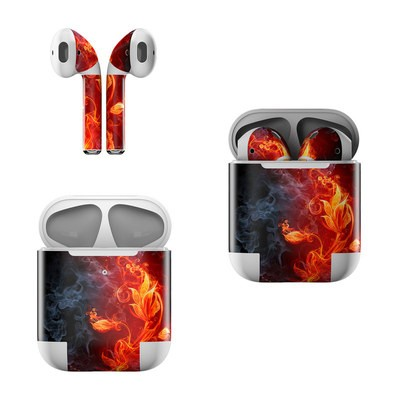 Apple AirPods Skin - Flower Of Fire