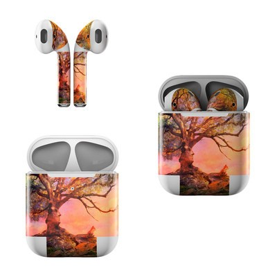 Apple AirPods Skin - Fox Sunset