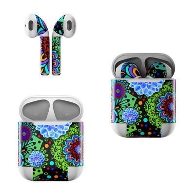 Apple AirPods Skin - Funky Floratopia