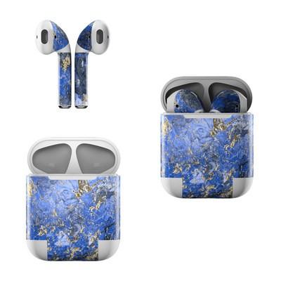 Apple AirPods Skin - Gilded Ocean Marble