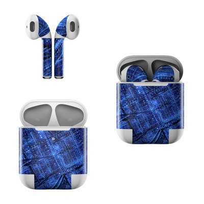 Apple Air Pods Skin - Grid