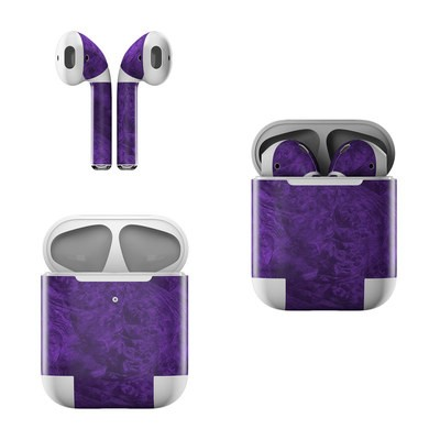 Apple AirPods Skin - Purple Lacquer