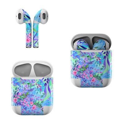 Apple Air Pods Skin - Lavender Flowers