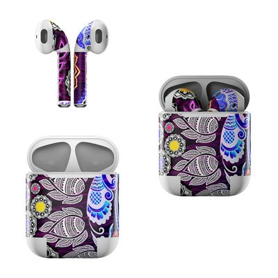 Apple Air Pods Skin - Mehndi Garden