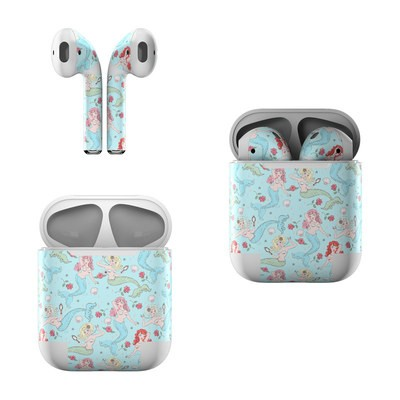 Apple AirPods Skin - Mermaids and Roses