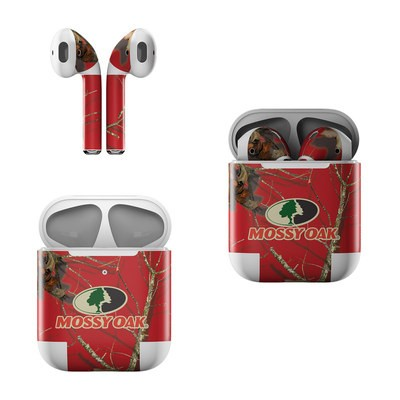 Apple AirPods Skin - Break-Up Lifestyles Red Oak