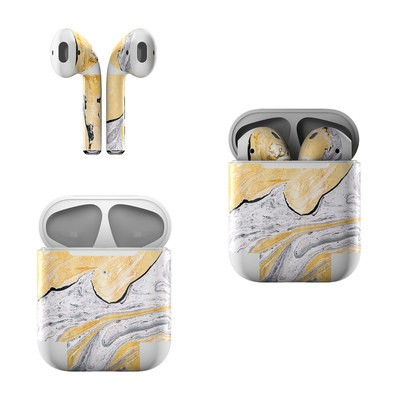 Apple AirPods Skin - Ornate Marble