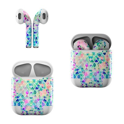 Apple Air Pods Skin - Pastel Triangle