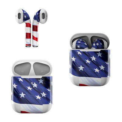 Apple Air Pods Skin - Patriotic