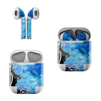 Apple Air Pods Skin - Peacock Sky