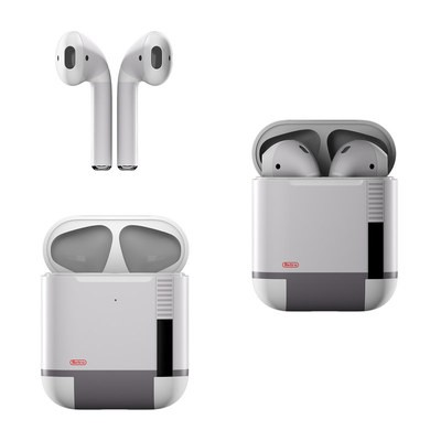 Apple Air Pods Skin - Retro Horizontal