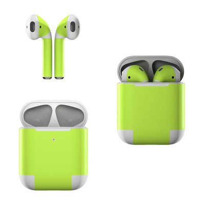 Apple AirPods Skin - Solid State Lime