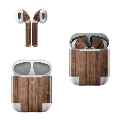 Apple AirPods Skin - Stained Wood