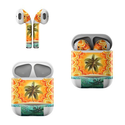 Apple Air Pods Skin - Sundala Tropic