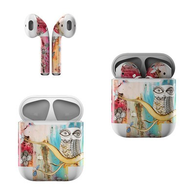 Apple AirPods Skin - Surreal Owl