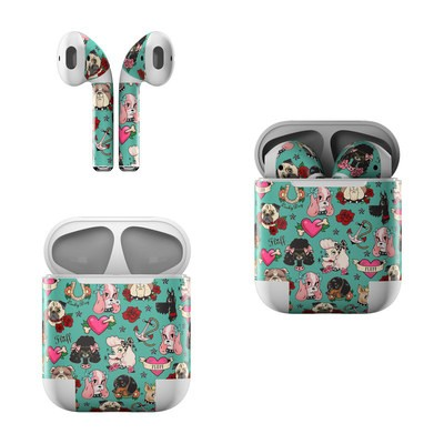 Apple AirPods Skin - Tattoo Dogs