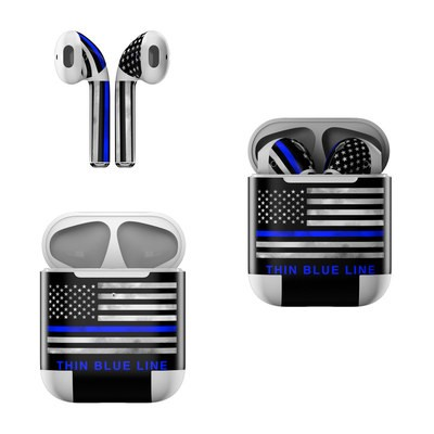 Apple AirPods Skin - Thin Blue Line