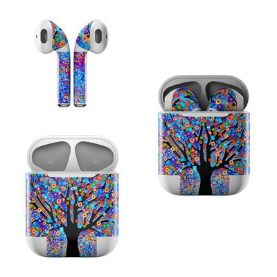 Apple Air Pods Skin - Tree Carnival