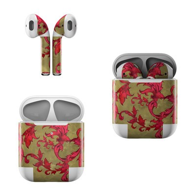 Apple AirPods Skin - Vintage Scarlet