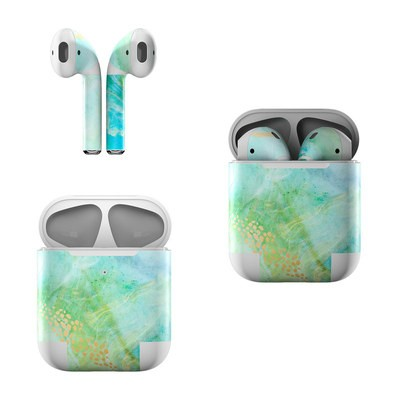 Apple Air Pods Skin - Winter Marble