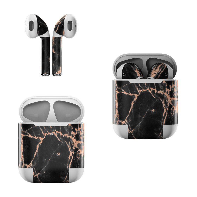 Apple Airpods Skin Rose Quartz Marble By Marble