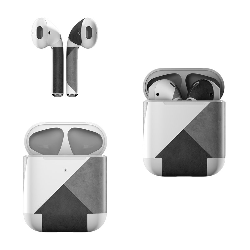 Apple Airpods Skin Slate By Color Block Decalgirl