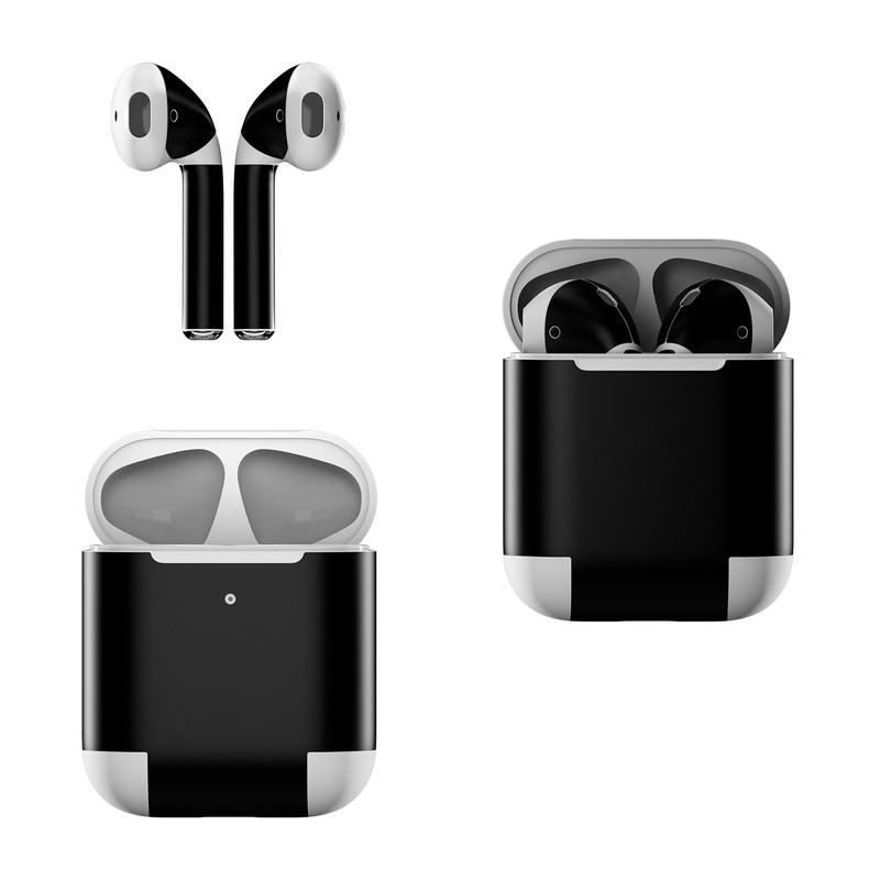 Apple AirPods Skin - Solid State Black by Solid Colors
