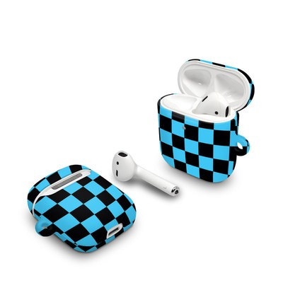 Apple AirPods Case - Checkers Blue