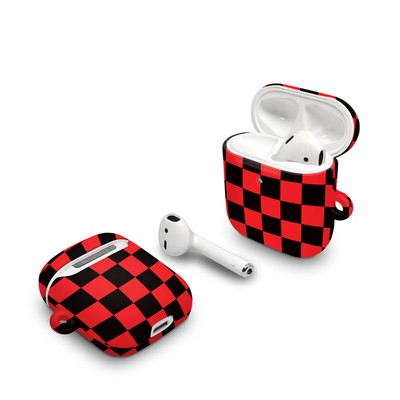 Apple AirPods Case - Checkers Red