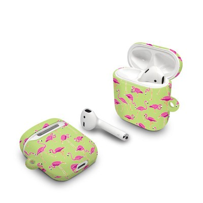 Apple AirPods Case - Flamingo Day