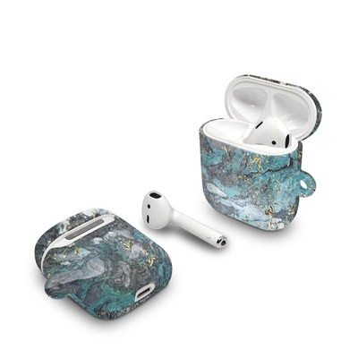 Apple AirPods Case - Gilded Glacier Marble