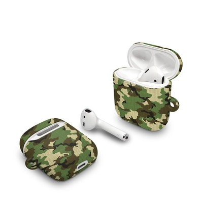 Apple AirPods Case - Woodland Camo
