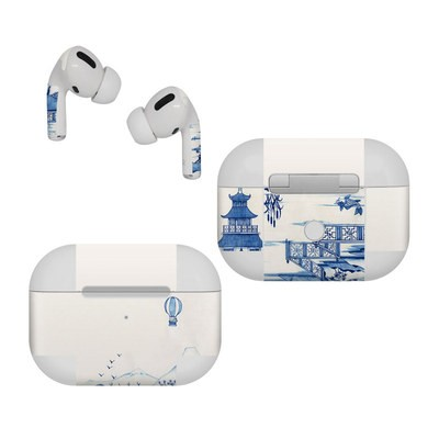 Apple AirPods Pro Skin - Blue Willow