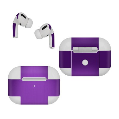 Apple AirPods Pro Skin - Purple Burst